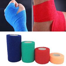 3 Sizes Self Adhesive Elastic Bandage Medical Aid Kit Nonwoven Cohesive Wound