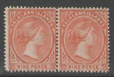 Mint Hinged Victoria (1840-1901) Falkland Island Stamps