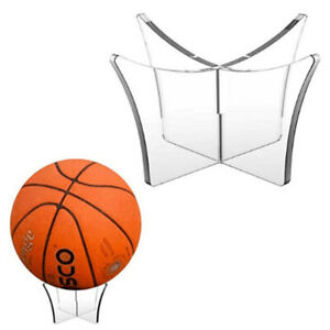 Acrylic Multi-function Basketball Stand Display Holder Ball Rack Support Base_yk