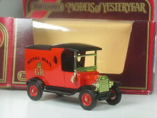 TOP: Matchbox MoY Y-12 Ford Model T 1912 Royal Mail in OVP
