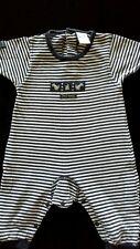 PUMPKIN PATCH BABY PATCH onesie size 00 navy stripe Patch Bunny applique knit