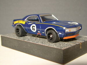 """AW T-jet  68 """"SUNOCO"""" CAMARO ROAD RACER, NEO MAG, WIDE WHEEL & TIRES - AWESOME!"""