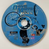 Dave Mirra Freestyle BMX (Sega Dreamcast, 2000) Disc Only