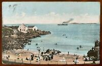 Ladies Bathing Place Portrush Postcard Co Antrim Northern Ireland Posted 1906