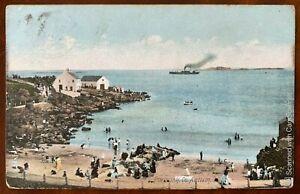 Ladies Bathing Place Portrush Postcard Co Antrim Northern Ireland Posted 1906
