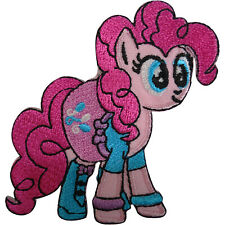 My Little Pony Pinkie Pie Patch Embroidered Badge Iron Sew On T Shirt Bag Jeans