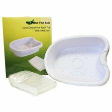 Ionic Detox Foot Bath 802FBWL Basin Tub for All Machines - 100 Liners