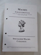 Machin Collectors Club Specialised Stamp Catalogue Issue 1, Loose Leaf Pages
