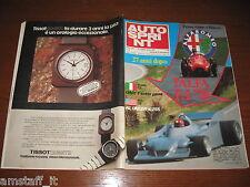 AUTOSPRINT 1978/22=ALFA-ROMEO F.1=PUBBLICITA' TISSOT QUARTZ=
