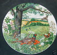 DC:Wedgwood Plate Meadows and Wheatfields, Colin Newman