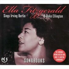 The  Irving Berlin & Duke Ellington Songbooks by Ella Fitzgerald (CD,...