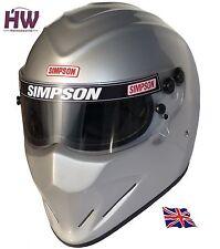 Simpson Diamondback CASCO SNELL SA2015 MSA Hans Plata XS-XXL