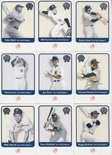 2001 Fleer Greats of the Game Yankees 15 Card Lot Babe Ruth Reggie Jackson #3,5