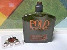 Ralph Lauren POLO EXPLORER FOR MEN EDT SPRAY 4.2 oz / 125 ml T3STER WITH N0 CAP