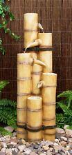 Fontaine Bambou Décoration Jardin Cascade Électrique Traditionnelle Japonaise