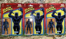 Lot (3) Marvel Legends 3.75? Black Panther Retro Hasbro Figures