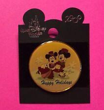 "Mickey & Minnie Ice Skating, WDW ""Happy Holidays"" Disney Pin"