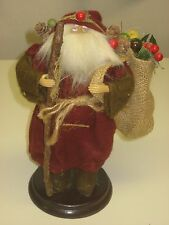 Santa Claus decoration for mantle or table - old time