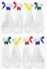 8 x 500ml Trigger Spray Bottle PACK - Chemical Superstore