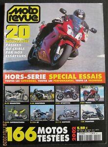MOTO REVUE HS SPECIAL ESSAIS 5H 2002
