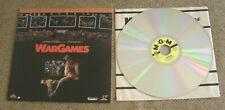 WarGames War Games Laserdisc Deluxe Letterbox Edition Laser Disc