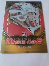 Arturs Irbe ITG Vault #/5 2012-13 ITG Between the Pipes Masked Men 5