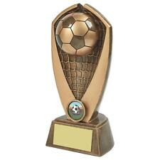 Football Trophy, Award, Antique Gold, Very Heavy,250mm, Free Engraving RS722)twt