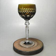 Kristall Römer Kelch  Weinglas ca.19 x 8 cm Top Zustand Bavaria