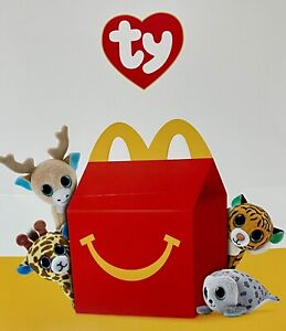2021 TY BEANIE BOOS SET (14) McDonald's Happy Meal SHIPS IMMEDIATELY
