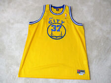 NIKE Nick Van Exel Golden State Warriors Basketball Jersey Adult 4XL XXXXL SEWN