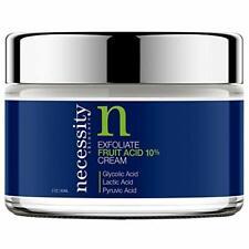 Necessity Skincare Exfoliate Fruit Acid 10% Cream, 2 Fluid Ounce 2