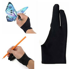 1pc Two Finger Anti-fouling Glove For Artist Drawing & Pen Graphic Tablet Pad hs