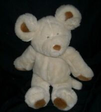 """13"""" VINTAGE 1992 COMMONWEALTH CREME BROWN MOUSE MICE STUFFED ANIMAL PLUSH TOY"""