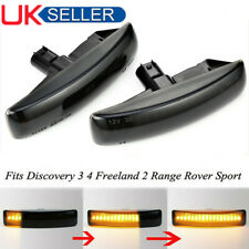 2 Dynamic LED Side Marker Repeater Light For Land Rover Discovery 3&4 Freelander
