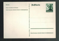 Mint Germany Sudetenland Postal Stationery Postcard Cover