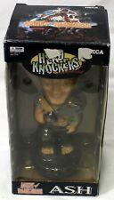 Neca Head Knockers Army of Darkness Ash Bobblehead & Box