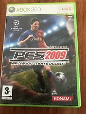 Pro Evolution Soccer 2009: PES - XBOX 360 Game – Good Complete Condition