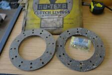 CITROEN, FORD & FORDSON, MORGAN NU-TEXA CLUTCH LININGS AND RIVETS 7/FD/2(2)