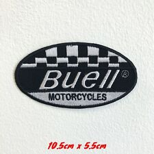 Buell Motos Motorsports de Course Motard Badge Brodé Patch Thermocollant #1589