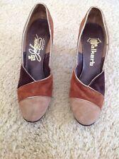 Vintage Johansen Heels - Suede Size 6