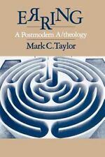 ERRING - TAYLOR, MARK C. - NEW PAPERBACK BOOK