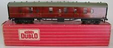 More details for hornby dublo oo gauge 2/3 rail 4075 br maroon passenger brake van e81312