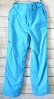 Billabong Altyr Series Snow Pants Size 16 / 10 12 Medium Blue Waterproof