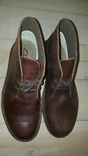 CONDITIONAL ITEM - CLARKS BUSHACRE 2 DARK BROWN 34135 SIZE 8 MENS