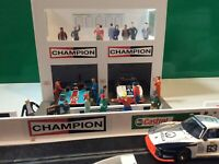 1:32 Scale  Champion  2x Car Pit Garage Building - Scalextric Carrera Scaleauto
