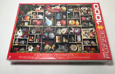 Eurographics Puzzle Christmas Ornaments 1000 Pieces New in Original Box