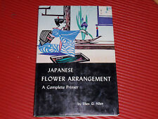 Vintage Book Japanese Flower Arrangement 1980