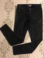 🎼 Paige Denim Verdugo Ultra Skinny -Coated - Dark Blue Stretch Jeans Sz 26 #8
