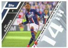 2017 Topps MLS Soccer Back of the Net #BOTN-14 Kei Kamara New England Revolution