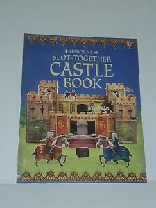 Usborne Slot-Together Foam Medieval Castle  Replacement Manual Book Only